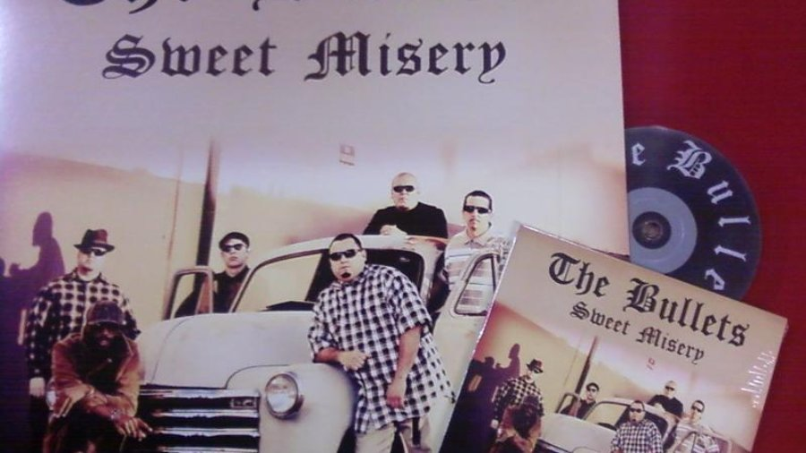 """THE BULLETS """"Sweet Misery"""" CD/LP (JUMP088) – feat ROGER RIVAS of THE AGGROLITES!"""
