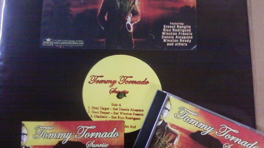 "TOMMY TORNADO – ""Sunrise"" LP vinyl (JUMP087 – OUT OF PRINT)"