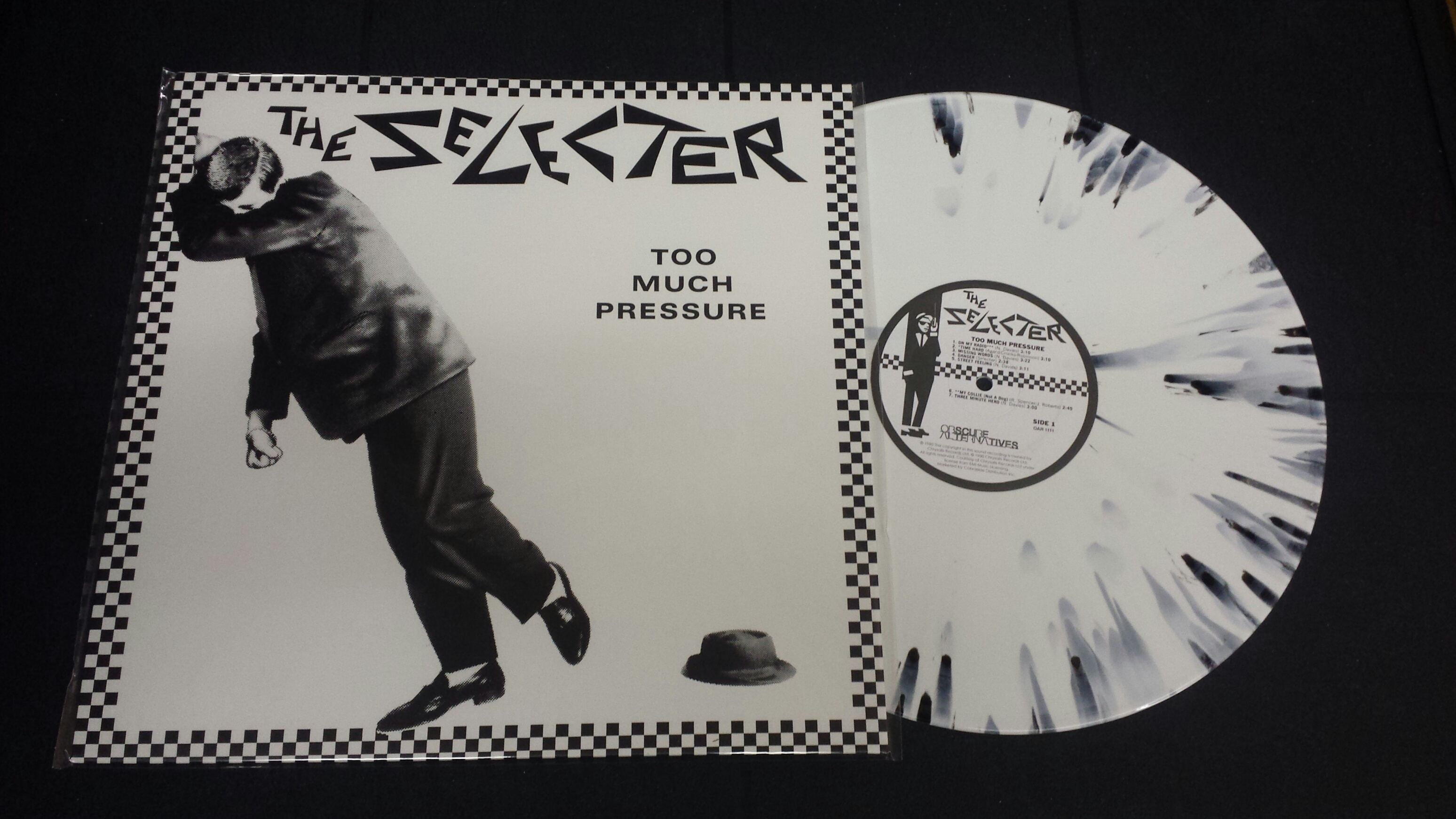 too much presure by colen wenke Too much pressure was the first album by british ska band the selecter it was released in 1980 on 2 tone records the album charted at # 5 in the united kingdom.