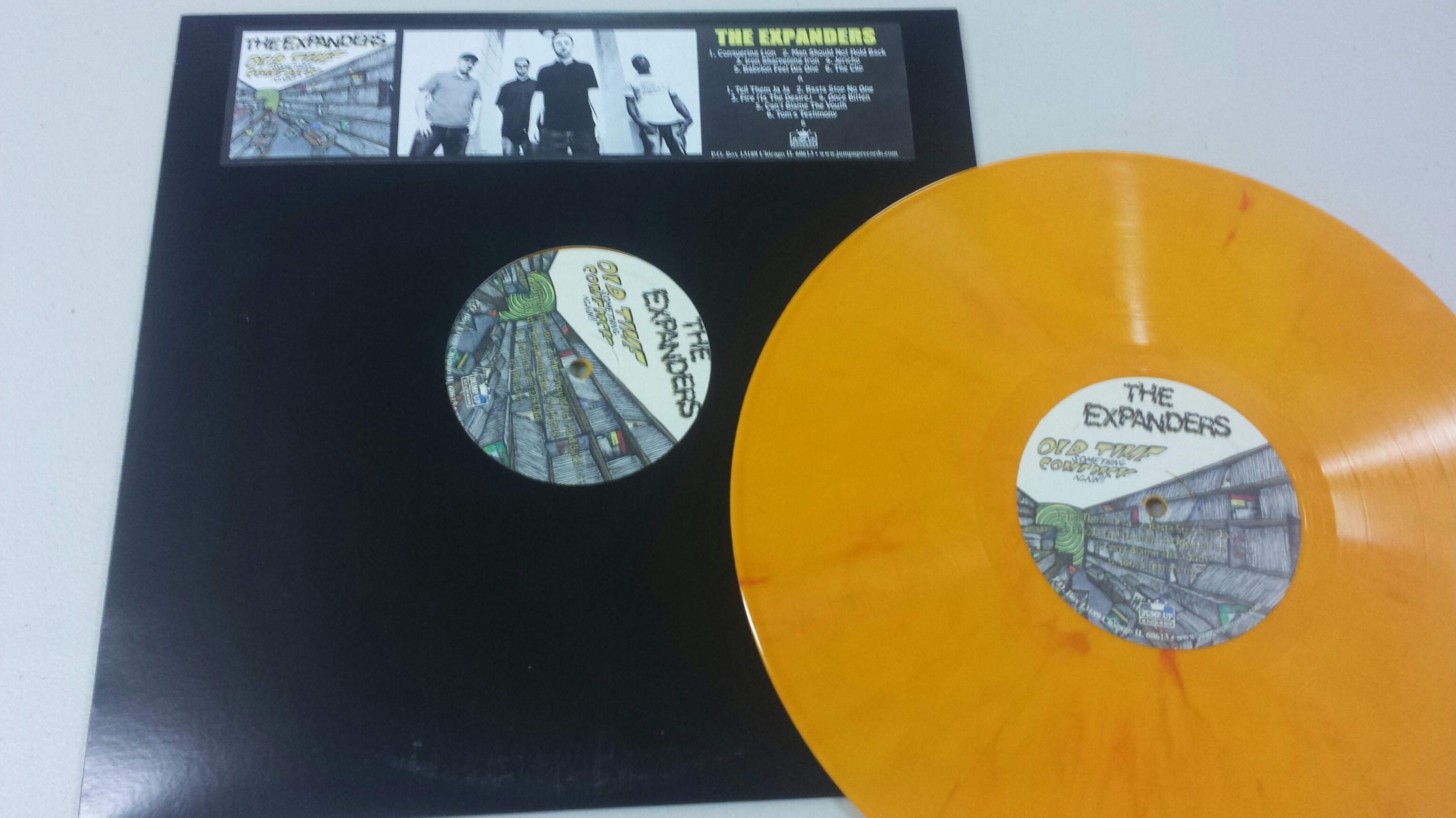 """THE EXPANDERS """"Old Time Something Come Again"""" LP (JUMP112LP"""