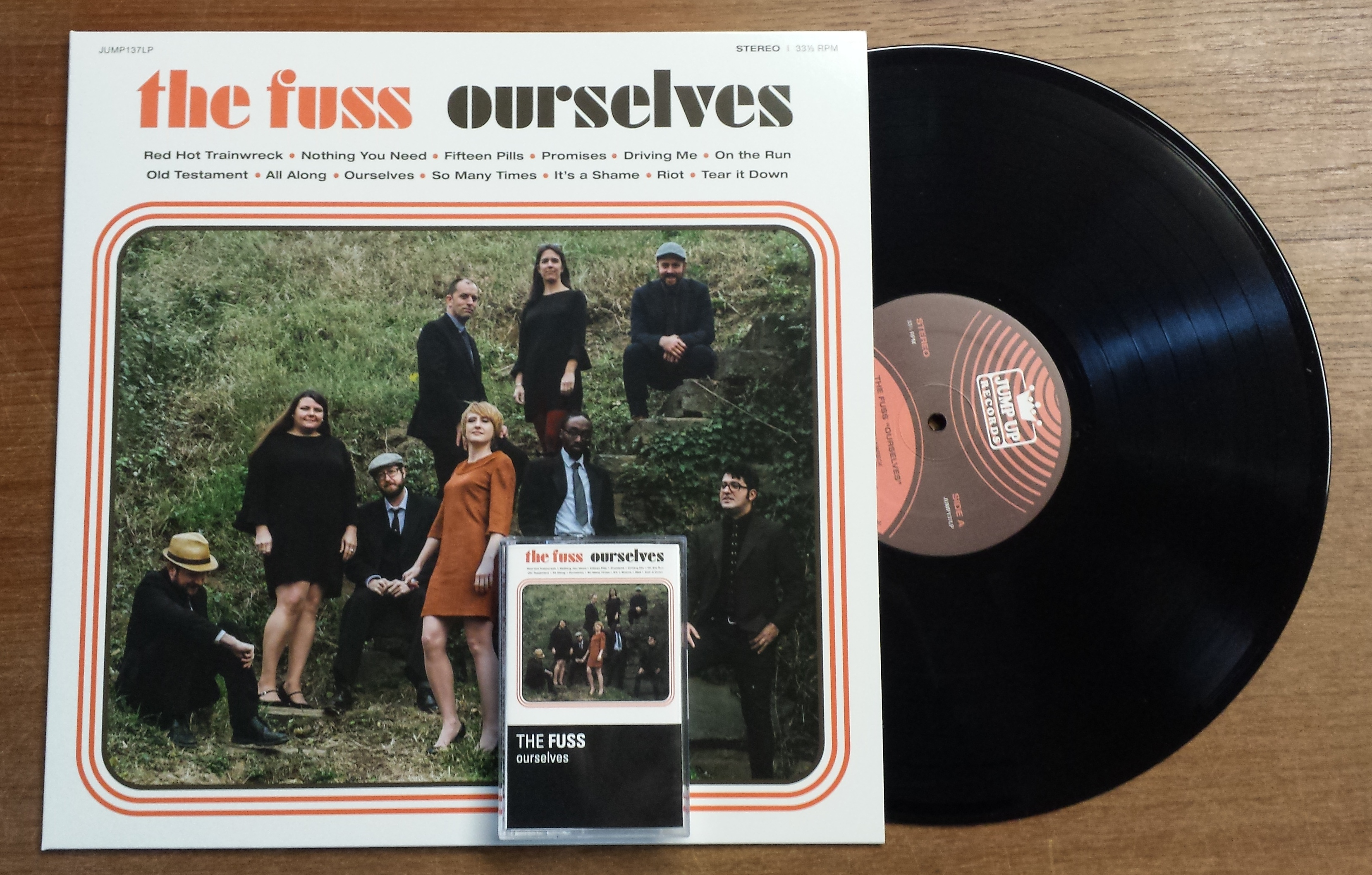 """THE FUSS """"Ourselves"""" LP / TAPE (JUMP137LP) available NOW"""